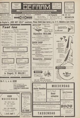 de Faam en de Faam/de Vlissinger 1962-05-11