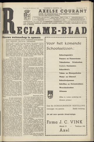 Axelsche Courant 1955-08-24