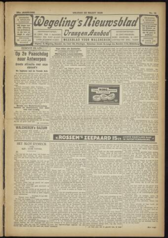 Zeeuwsch Nieuwsblad/Wegeling's Nieuwsblad 1929-03-22