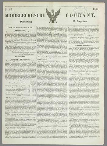 Middelburgsche Courant 1862-08-14