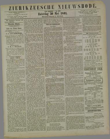 Zierikzeesche Nieuwsbode 1891-05-30