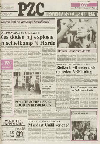 Provinciale Zeeuwse Courant 1983-07-19