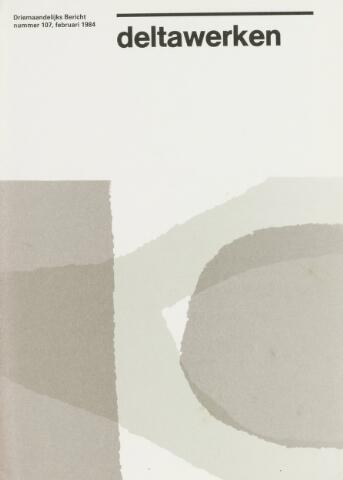 Driemaandelijks bericht Deltawerken 1984-02-01