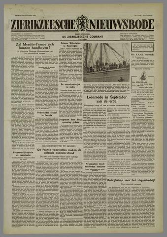 Zierikzeesche Nieuwsbode 1954-08-20