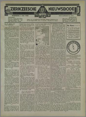 Zierikzeesche Nieuwsbode 1940-07-03