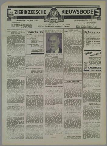 Zierikzeesche Nieuwsbode 1936-05-27