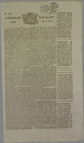 Goessche Courant 1822-10-11