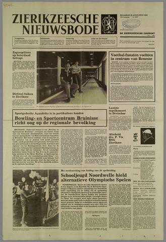Zierikzeesche Nieuwsbode 1984-08-20