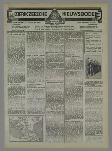 Zierikzeesche Nieuwsbode 1942-08-27
