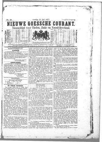 Nieuwe Goessche Courant 1877-07-31