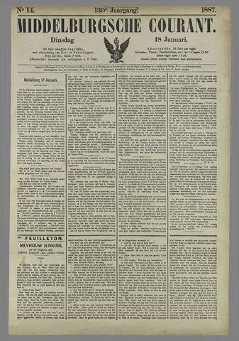 Middelburgsche Courant 1887-01-18