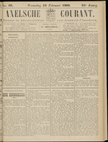 Axelsche Courant 1909-02-10