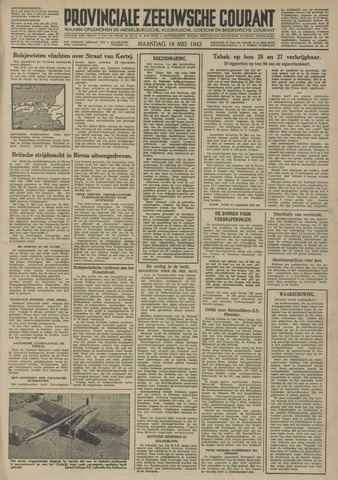 Provinciale Zeeuwse Courant 1942-05-18