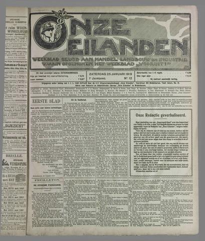 Onze Eilanden 1919-01-25