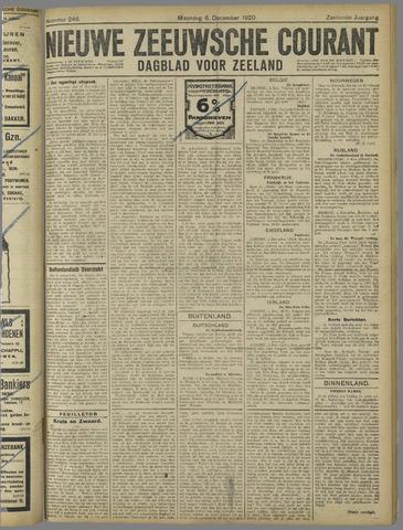 Nieuwe Zeeuwsche Courant 1920-12-06