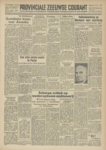 Provinciale Zeeuwse Courant 1948-01-27
