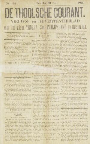 Ierseksche en Thoolsche Courant 1885-05-23
