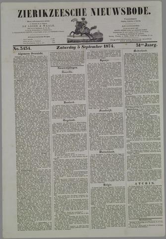 Zierikzeesche Nieuwsbode 1874-09-05