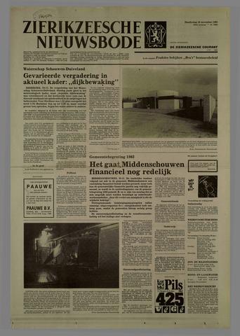 Zierikzeesche Nieuwsbode 1981-11-26