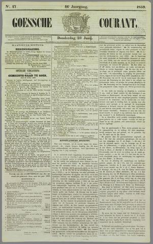 Goessche Courant 1859-06-23