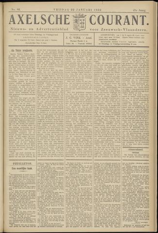 Axelsche Courant 1932-01-22