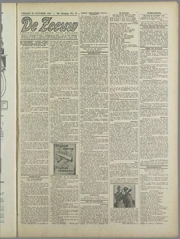 De Zeeuw. Christelijk-historisch nieuwsblad voor Zeeland 1943-10-29