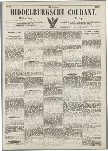 Middelburgsche Courant 1901-04-11