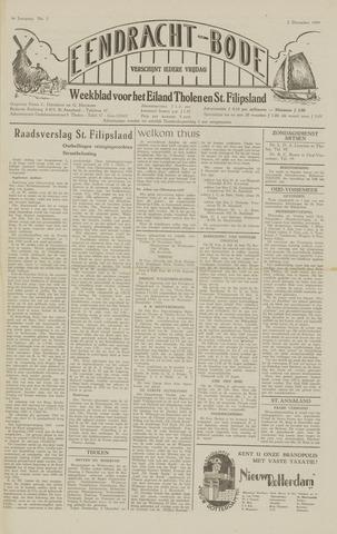 Eendrachtbode (1945-heden)/Mededeelingenblad voor het eiland Tholen (1944/45) 1949-12-02