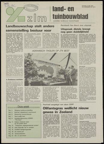 Zeeuwsch landbouwblad ... ZLM land- en tuinbouwblad 1991-05-31