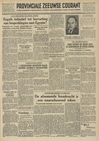 Provinciale Zeeuwse Courant 1952-02-11