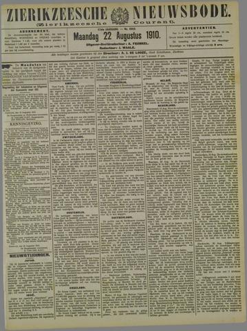Zierikzeesche Nieuwsbode 1910-08-22