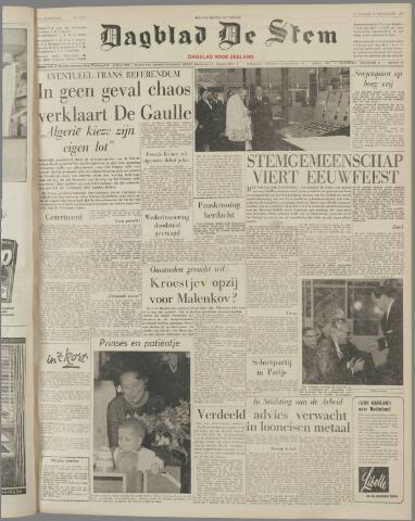 de Stem 1960-11-05