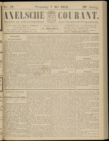 Axelsche Courant 1913-05-07