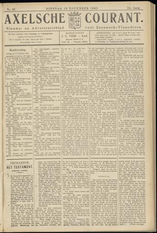Axelsche Courant 1935-11-19