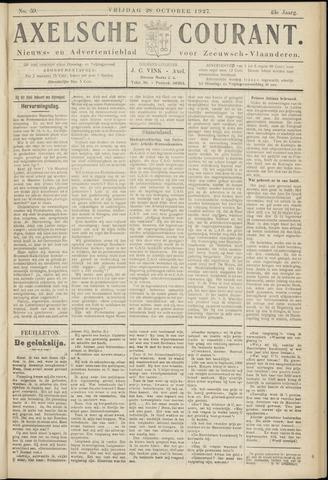 Axelsche Courant 1927-10-28