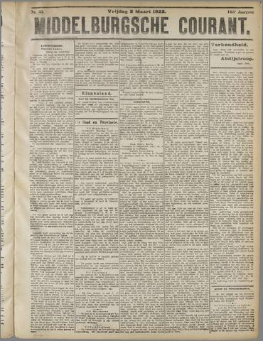 Middelburgsche Courant 1922-03-03