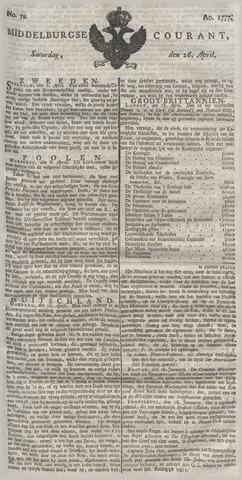 Middelburgsche Courant 1777-04-26