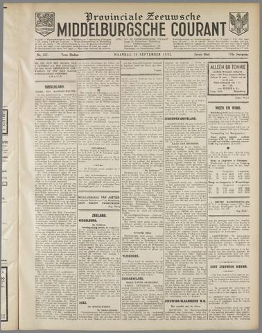 Middelburgsche Courant 1932-09-26