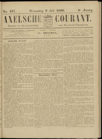 Axelsche Courant 1890-07-09