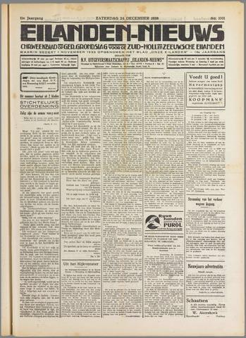 Eilanden-nieuws. Christelijk streekblad op gereformeerde grondslag 1938-12-24