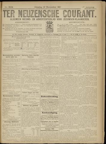 Ter Neuzensche Courant. Algemeen Nieuws- en Advertentieblad voor Zeeuwsch-Vlaanderen / Neuzensche Courant ... (idem) / (Algemeen) nieuws en advertentieblad voor Zeeuwsch-Vlaanderen 1917-11-27