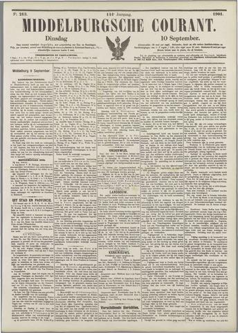 Middelburgsche Courant 1901-09-10