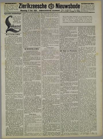 Zierikzeesche Nieuwsbode 1921-10-17