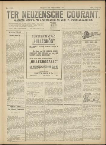 Ter Neuzensche Courant. Algemeen Nieuws- en Advertentieblad voor Zeeuwsch-Vlaanderen / Neuzensche Courant ... (idem) / (Algemeen) nieuws en advertentieblad voor Zeeuwsch-Vlaanderen 1930-02-28