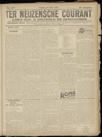 Ter Neuzensche Courant. Algemeen Nieuws- en Advertentieblad voor Zeeuwsch-Vlaanderen / Neuzensche Courant ... (idem) / (Algemeen) nieuws en advertentieblad voor Zeeuwsch-Vlaanderen 1929-05-24