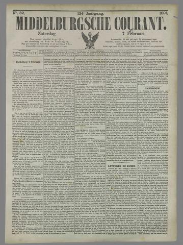 Middelburgsche Courant 1891-02-07
