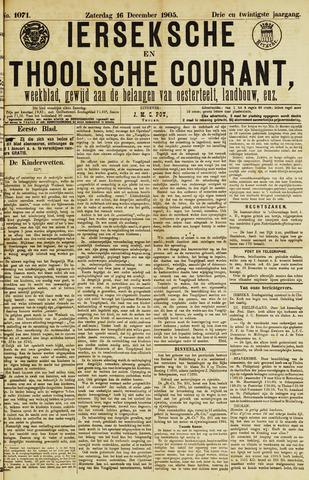 Ierseksche en Thoolsche Courant 1905-12-16