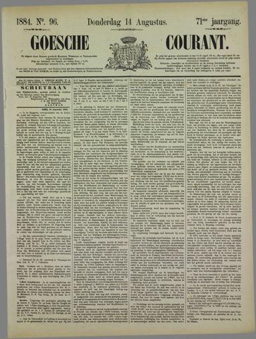 Goessche Courant 1884-08-14