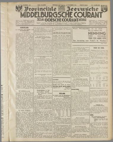 Middelburgsche Courant 1934-11-27