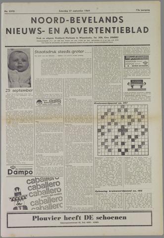 Noord-Bevelands Nieuws- en advertentieblad 1969-09-27